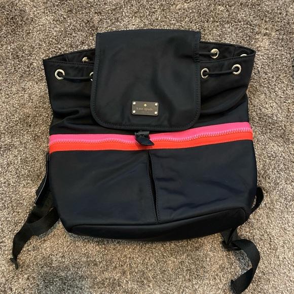 Kate Spade drawstring backpack